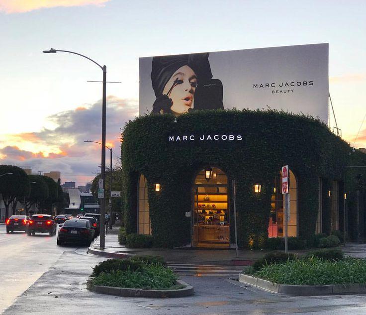 "MARC JACOBS, Melrose Place, Los Angeles, California, ""Velvet Noir Mascara On Top"", photo by Kaia Gerber, pinned by Ton van der Veer"
