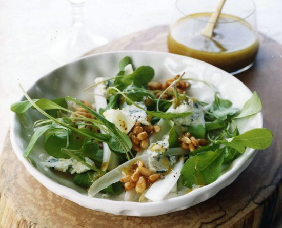 Arugula-Endive Salad with Honeyed Pine Nuts – The Great British Food Festival