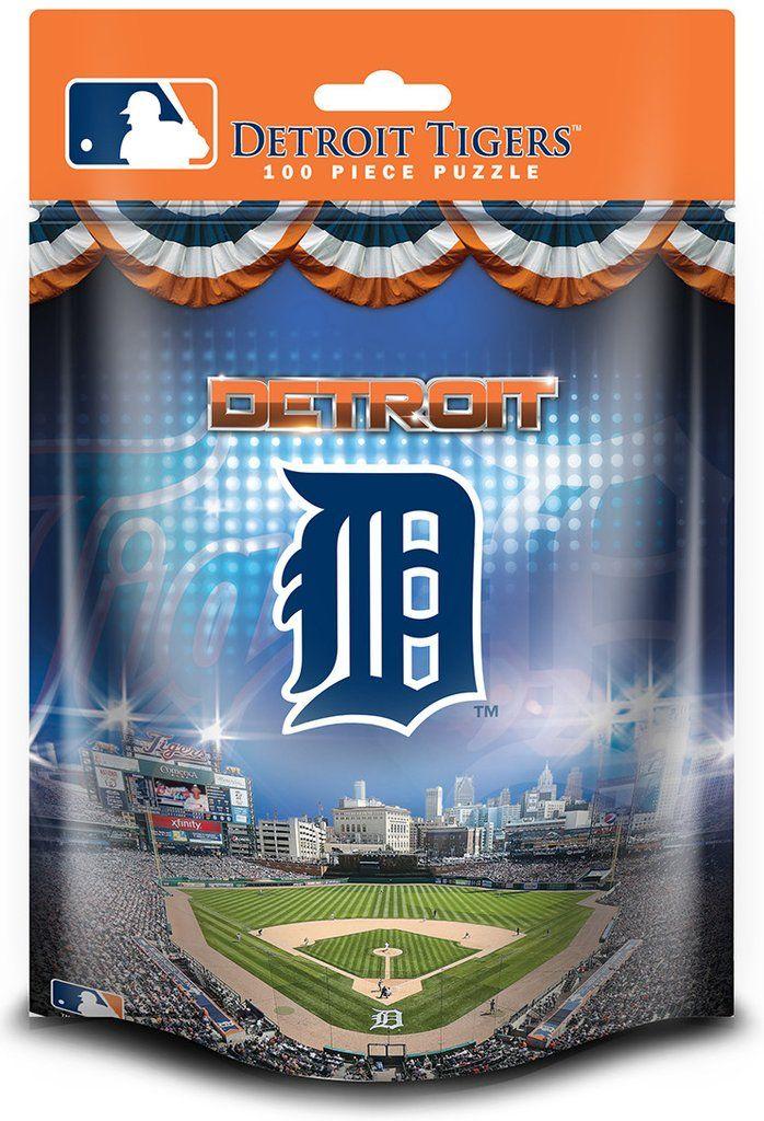 MLB Detroit Tigers - 100 Piece Jigsaw Puzzle