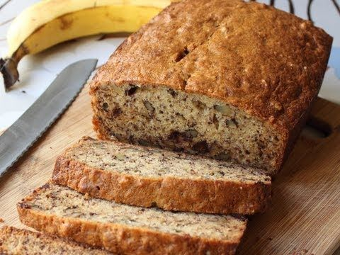Oh my, is this good - Chef John is so much fun to listen to - just makes you want to bake!  Just made this banana bread - delish!