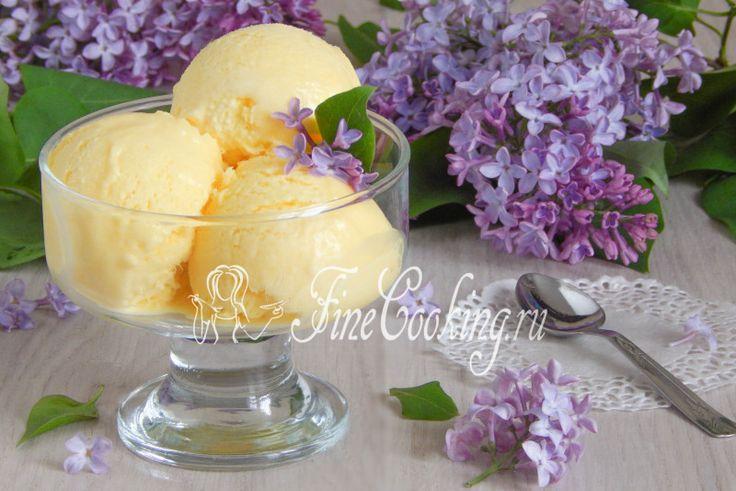 Домашнее мороженое пломбир