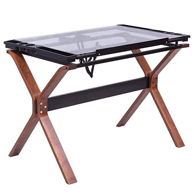 Fantastic Tangkula Drafting Table Adjustable Home Office Workstation Creativecarmelina Interior Chair Design Creativecarmelinacom