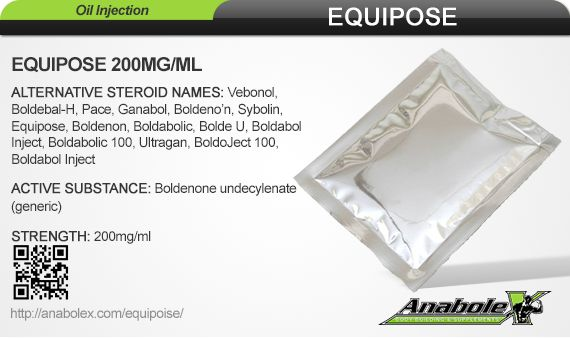 Equipose is a long-acting injectable anabolic agent, supplied in a vial providing 200 mg boldenone undecylenate per mL in oil solution. Visit our website to learn more.