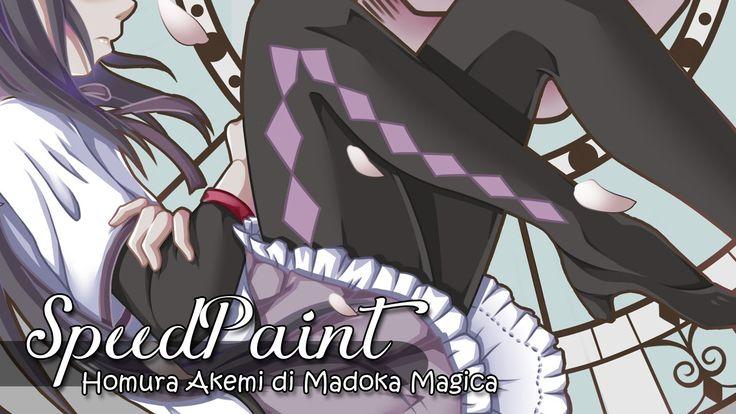 ★ Speed paint ★ - Homura Akemi di Madoka Magica [Paint Tool SAI]