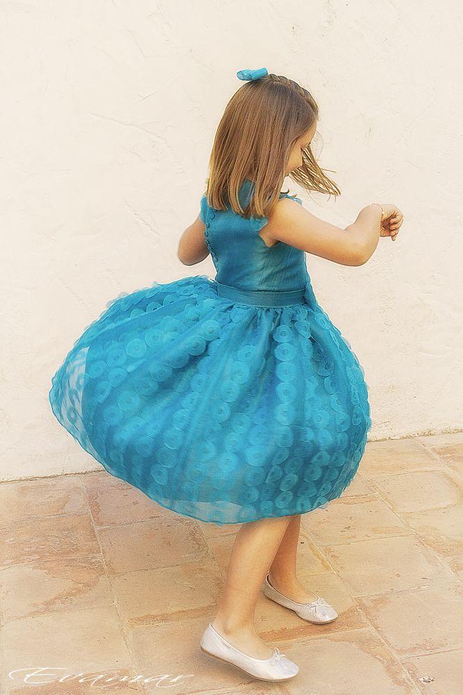Retratos niños - Vestida de azul