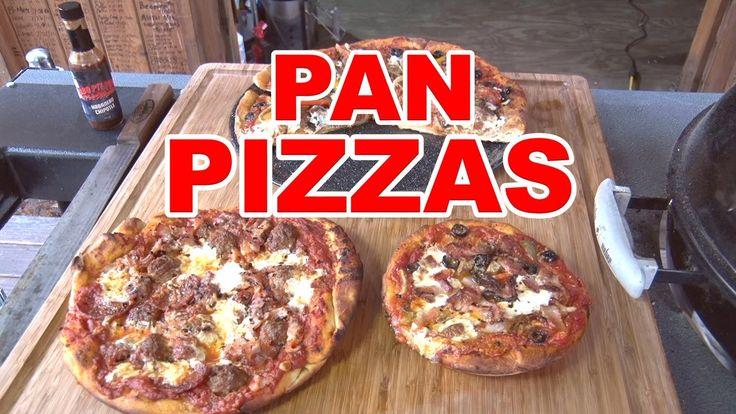 アメリカのワイルドバーべキュー集団 BBQ Pit Boys のピザ動画がうまそーーw