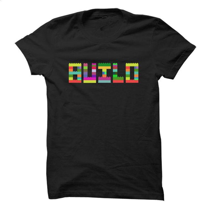 BUILD (lego) T Shirts, Hoodies, Sweatshirts - #shirt maker #orange hoodie. ORDER NOW => https://www.sunfrog.com/LifeStyle/BUILD-lego.html?60505