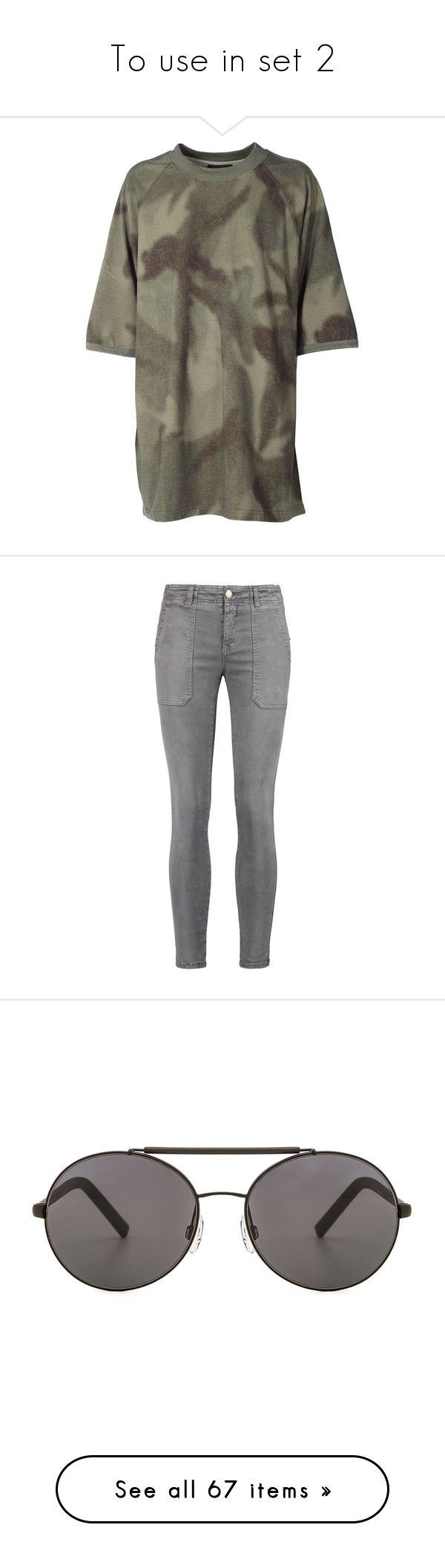 """""""To use in set 2"""" by lilymcenvy ❤ liked on Polyvore featuring tops, t-shirts, clothing - ss tops, verde, short sleeve tee, crew neck top, short sleeve crew neck t shirt, crewneck t shirt, crew neck tee and jeans"""