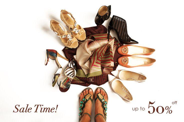 Guida ai saldi estivi 2015 online: scarpe firmate donna