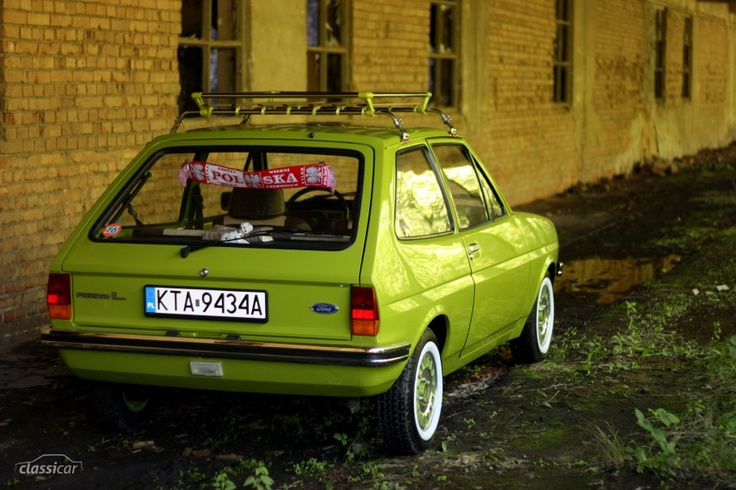 Ford Fiesta Mk.1 - I love this! Older version of my car