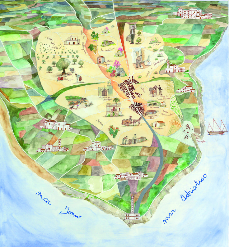 > Mappa di Comunità di Alessano (Le)