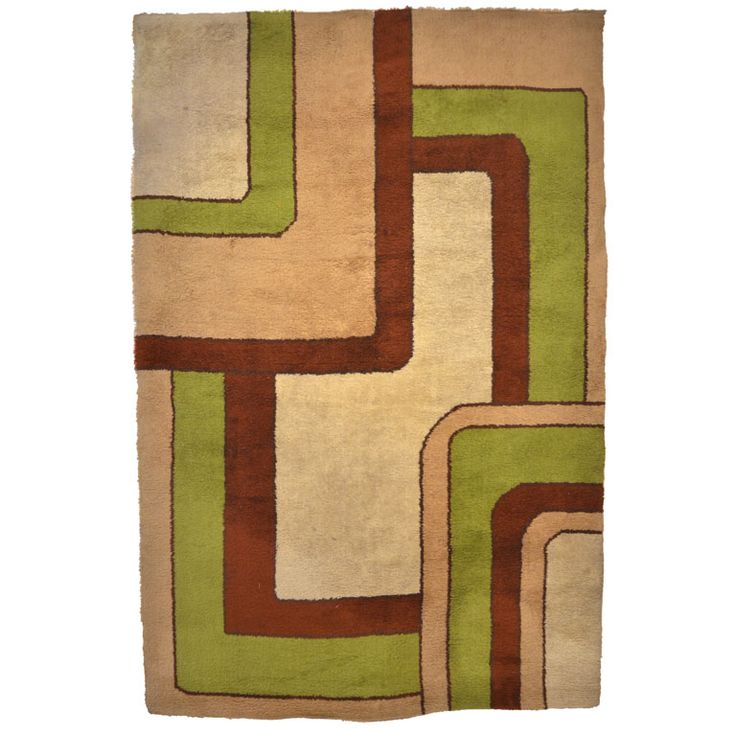 Swedish Rya Carpet | See more antique and modern Russian and Scandinavian Rugs at http://www.1stdibs.com/furniture/rugs-carpets/russian-scandinavian-rugs
