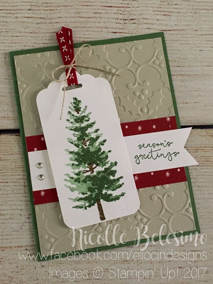 Image result for merriest christmas stampin up | Christmas Cards ...