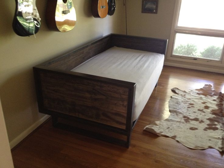 Recycled Barn Wood And Steel Daybed Sofa By Kristina1love