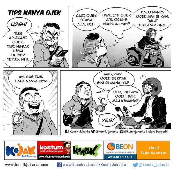 Tips Nanya Ojek by @haryadhi #KomikJakarta https://t.co/hQxUmpNmSk