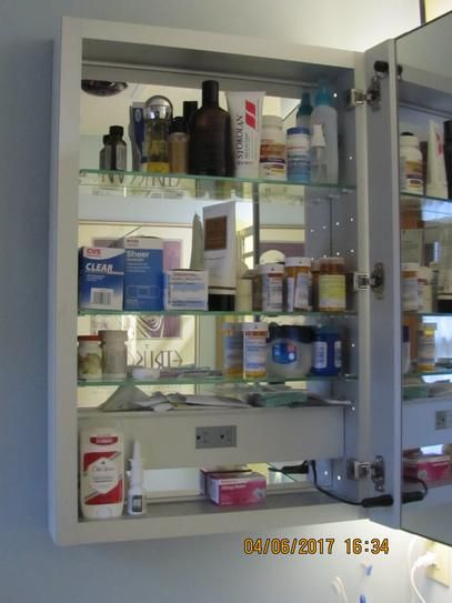 kohler verdera 20 in w x 30 in h lighted medicine cabinet - Kohler Medicine Cabinets