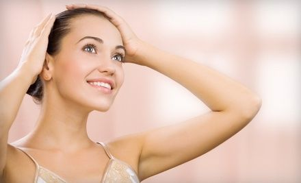 Groupon - Laser Hair-Removal Treatments at Simplicity Laser Hair Removal (Up to 90% Off). Five Options Available.. Groupon deal price: $99.00
