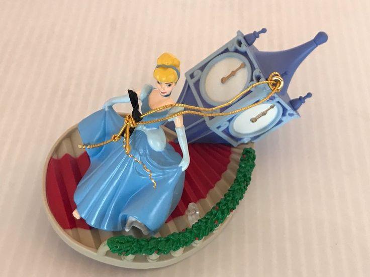 ENESCO Disney Princess CINDERELLA Holiday Ornament Running Down Stairs #Enesco