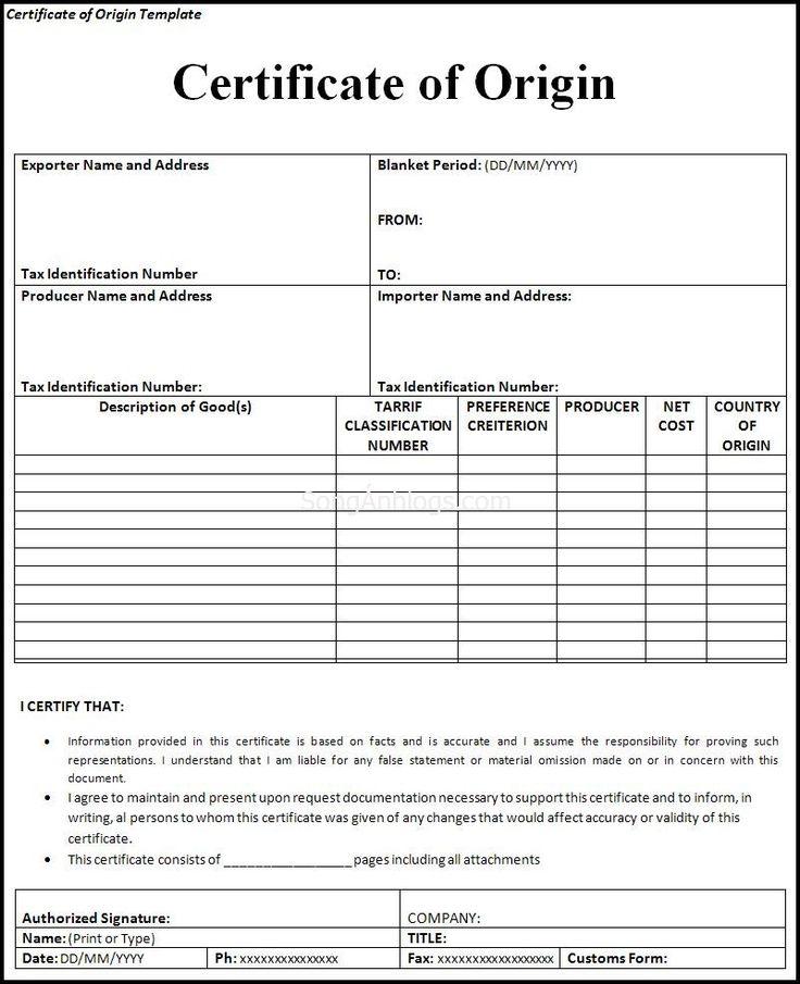 Khái niệm về C/O và những điều cần lưu ý NEWS Pinterest - requisition form in pdf