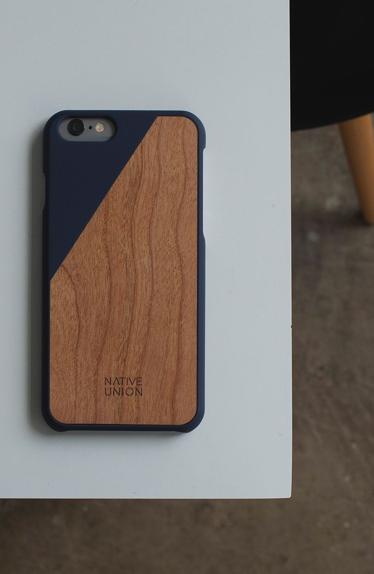 Native Union S Clic Wooden Iphone Case Made With Real American Timber Click For The Cliest