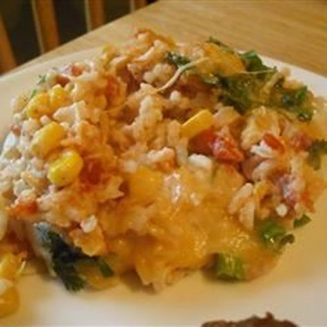 """Mexican Sour Cream Rice 