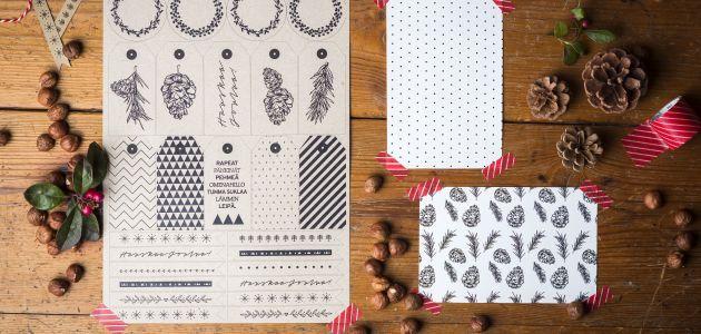 Dig christmas printables |Finlayson