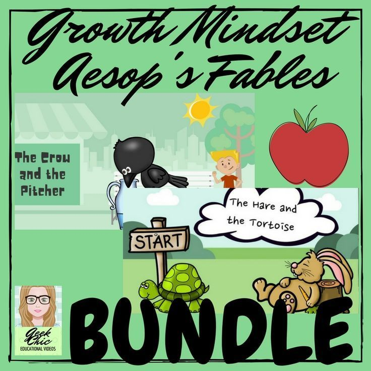Start the year by getting your students into a growth mindset!Included in this bundle -1. Growth mindset - Aesop's Fables - The Hare and the Tortoise - VIDEO KIT 2. Growth mindset - Aesop's Fables - The Crow and the Pitcher - VIDEO KIT