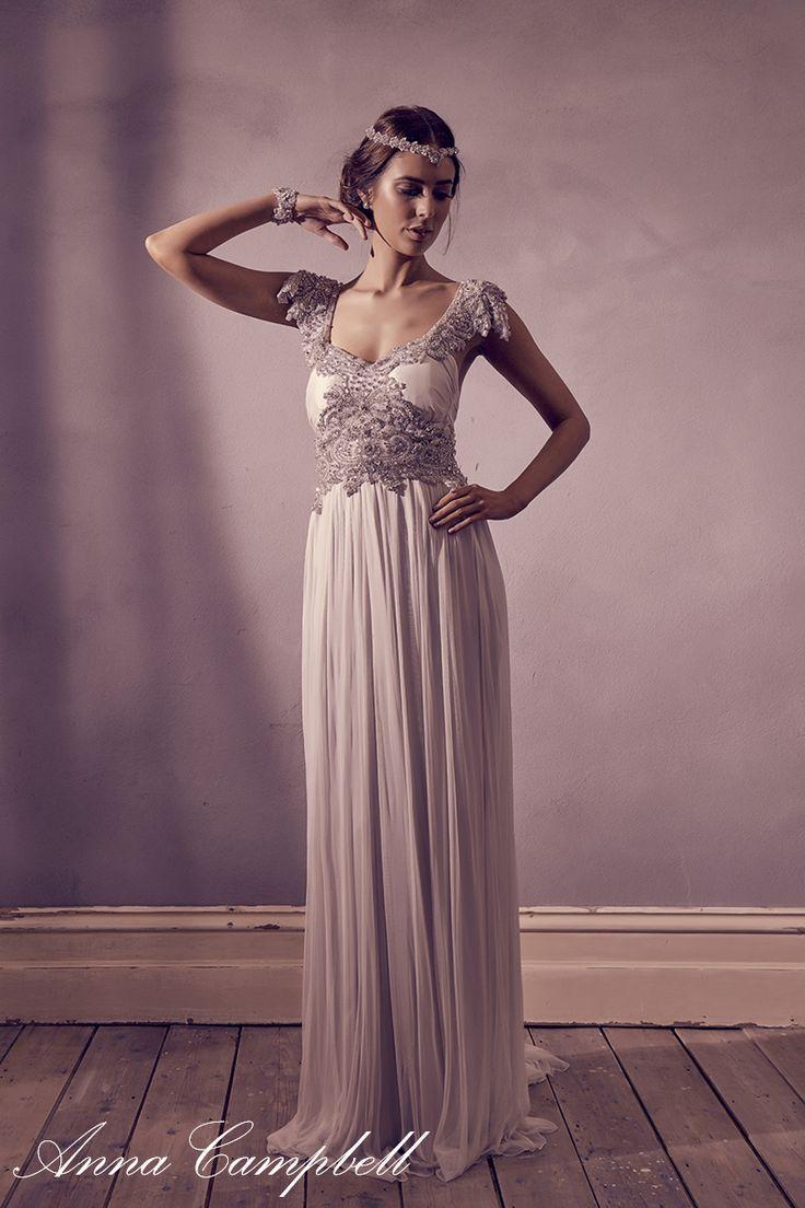 Vistoso Precios De Vestidos De Novia Anna Campbell Ideas Ornamento ...