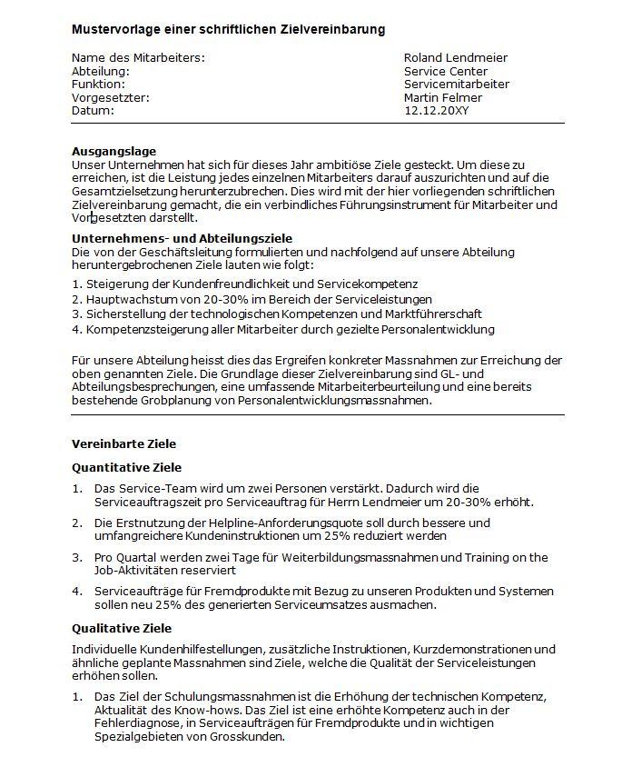 978-3-9523246-9-1 Richter, Thomas Mit wirksamen Zielvereinbarungen zu nachhaltigen Erfolgen  Vorlage zu schriftlicher Vereinbarung