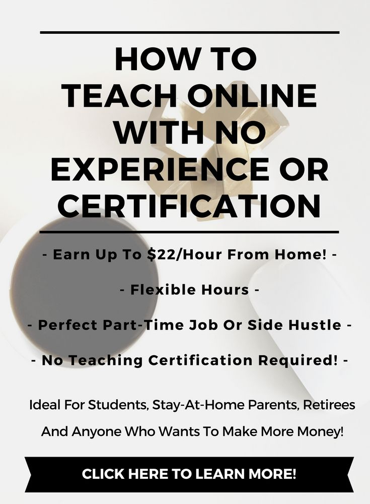 How To Teach Online With No Experience Or Certification Teaching