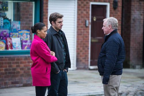 Steph, Gavin and Michael on Corrie