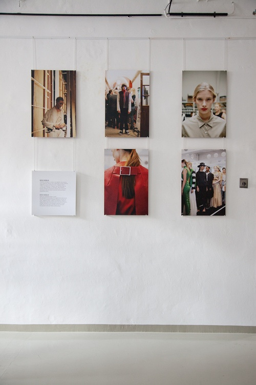 Kasia Bobula exhibition at the Museum of Technology and Textile Industry in Bielsko-Biala, Poland (2012)