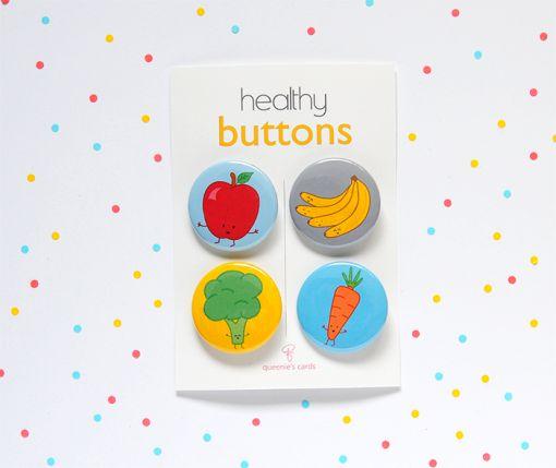 Healthy Button Set