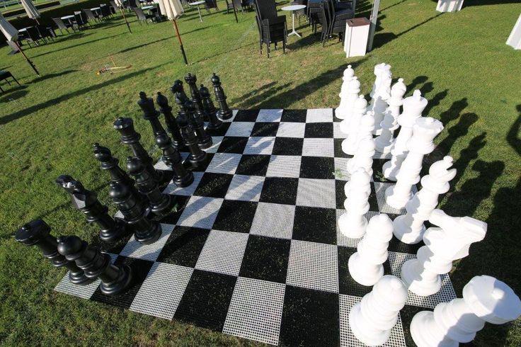 chequered flooring, chess, giant,