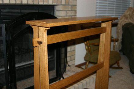 Craftsman Quilt Rack