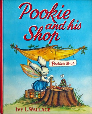 Pookie and his shop; March House Books Blog.  I remember these- they were odd and I loved them!!