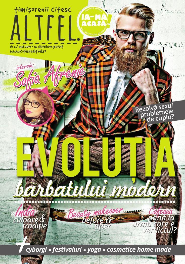 Revista Altfel May 2014 - Altfel magazine @afrenie