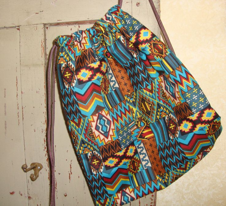 Drawstring Bag by EYPDesigns on Etsy