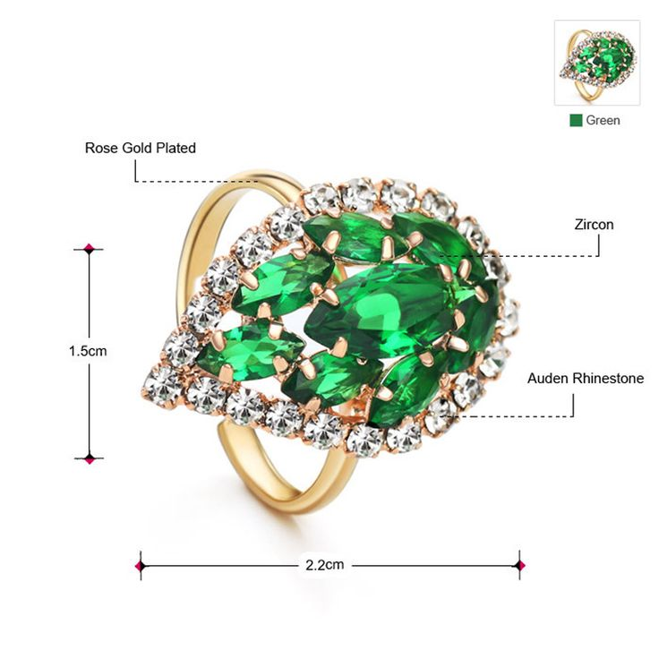 2 Colors Zircon Rhinestone Hoop Earrings for Women Wedding Classic Jewelry Waterdrop New Hot Tag a friend who would love this! www.lolfashion.ne... #Jewelry #shop #beauty #Woman's fashion #Products
