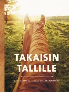 Kuvaus: Moni nuoruudessa ratsastanut palaa aikuisena takaisin tallille ja tarvitsee perustietoa hevosista, neuvoa ratsastuksen saloihin ja vertaistukea. Kirjassa on sekä tietoa hevosista, ratsastuksesta ja tallikulttuurista että syvähaastatteluja harrastuksen uudelleen aloittaneilta ratsastajilta. Ratsastusharrastukseen ja sen loppumiseen nuoruudessa on voinut liittyä traumaattisiakin kokemuksia, joita kirjassa autetaan myös käsittelemään.