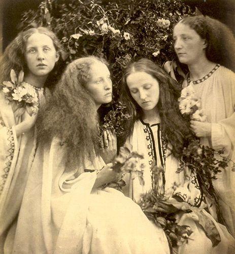 Julia Margaret Cameron, pioneering 19thC century female photographer