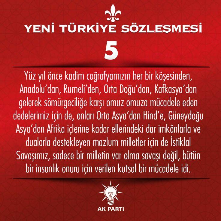 5.Madde, #YeniTürkiyeSözleşmesi