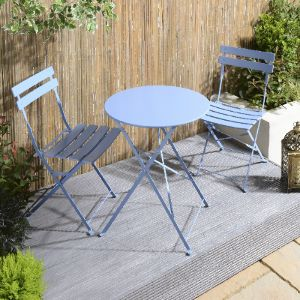 two seater garden table and chairs aluminum webbed lawn bistro sets the range h o m e small