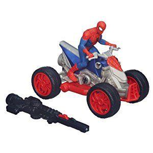 Amazon.com: Marvel Ultimate Spider-Man Blast 'N Go ATV Vehicle: Toys & Games