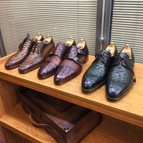 Men's Luxury Shoes by PAUL PARKMAN what I wouldn't do for a pair of these