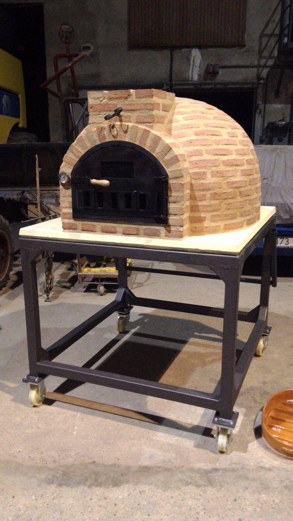 17 mejores ideas sobre hornos de ladrillo en pinterest - Hornos a lena construccion ...