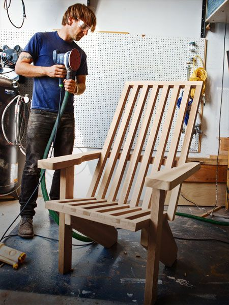 The classic backyard beauty gets a well-deserved makeover in these plans for an updated adirondack chair.
