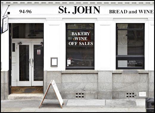 Spitalfields | St. JOHN Restaurant