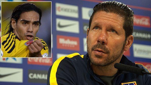 Brasil 2014: Diego Simeone lamenta que Radamel Falcao se pierda el Mundial #Peru21