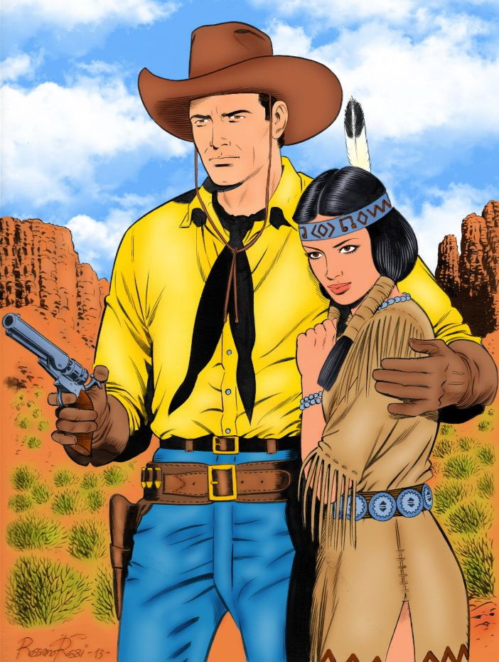 Tex and Lilith by Rossano Rossi by winchester01.deviantart.com on @DeviantArt